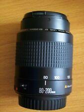Canon EF 80-200mm  F 4.5-5.6 ii Mark 2 Lens VGC Fits most EOS digital RARE