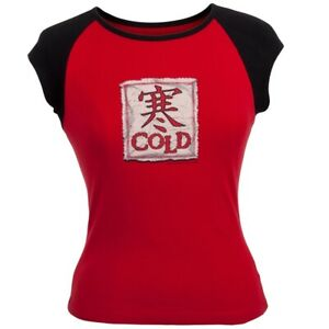 Cold - Patch Juniors Babydoll T-Shirt