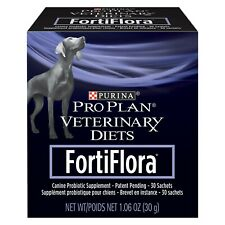 Purina Pro Plan Veterinary Diets Fortiflora Canine Nutritional Dog Supplement
