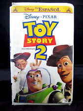 Toy Story 2 VHS En Espaňol Doblada al Espanol Disney Pixar Dubbed in Spanish
