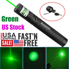 900 Miles 532nm Green Laser Pointer Pen Visible Beam 18650 Lazer Focus/Zoom New