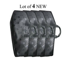 Lot of 4 Coffin Case Drum Stick Bag Case Guitar Hero Xbox Carry Case Drums NEW