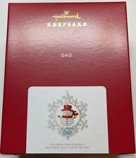 Hallmark 2021 Dad Snowflake Christmas Ornament New with Box