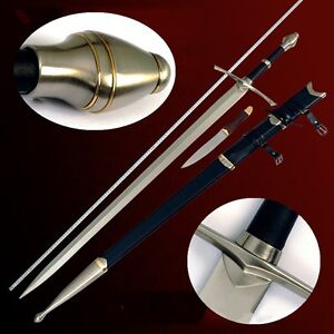 Lord of The Rings Anduril The Sword of Aragon Holy Sword High Carbon Steel #0068