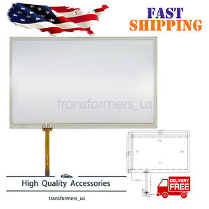 Navigation Touch Screen Glass Digitizer Fits For Lexus IS GS RX Toyota Prius MDF