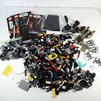 Mega Bloks and Legos Random Mixed Lot 3 lbs Halo Kylo Ren Partial Set Starwars