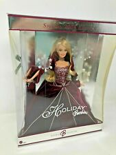 2004 Special Edition Holiday Barbie Red Burgundy Velvet Gown -  MIB NRFB G8177