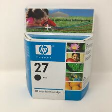 HP 27 Black - Genuine HP ink cartridge - New and sealed - Exp 3/2007