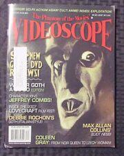 2008 VIDEOSCOPE Horror Magazine #65 FVF Nosferatu Cover Leech Woman