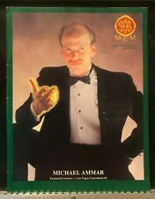 Michael Ammar Featured Lecturer Mum Magicians Magazine June 1991