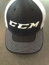 Ccm Mesh Flex Cap-Adult/Senior - Black L/Xl