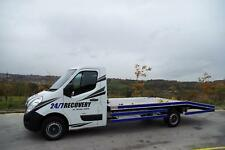 VAUXHALL MOVANO 2.3 CDTi RECOVERY TRUCK 2012 12 PLATE