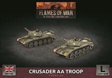 Flames of War British Crusader AA Troop New