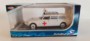 SOLIDO  Chine  rare   CITROEN  DS  Break  Ambulance   ech 1/43   neuf en boite