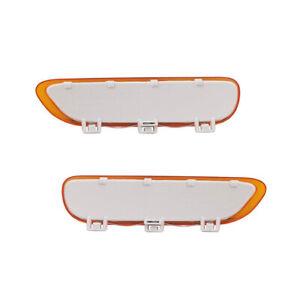 NEW REFLECTOR LIGHT PAIR FITS BMW 323CI 2000 323I 99-01 63148383012 63148383011