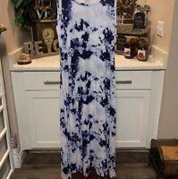 Soho Tye Dye Maxi Dress Size Large