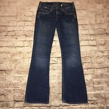 Silver Jeans Womens Pioneer sz 28/33 Distressed  Boot cut denim Jeans