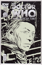 DOCTOR WHO: PRISONERS OF TIME #1 Dynamic Forces B&W Sketch VARIANT /500 w/COA NM