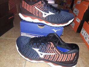 NEW Mens Mizuno Wave Sky Waveknit 3 Running Shoes, size 11
