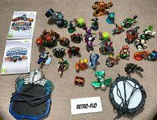 Lot 30 Figurines Skylanders + 2 Portails + 2 Jeux Wii