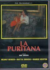LA PURITANA 1989 HELMUT BERGER MARGIE NEWTON GABRIELE TINTI DVD NUOVO MAI APERTO