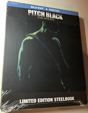 Pitch Black [2000] [Limited Edition SteelBook] [Blu-ray+Digital] Vin Diesel• New