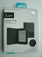 iLuv UNIVERSAL S FOLIO FOR KINDLE PAPERWHITE, KINDLE, BARNES & NOBLE NOOK SIMPLE