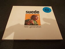 SUEDE NEW GENERATION CD SINGLE INCLUDING LIVE TRACKS