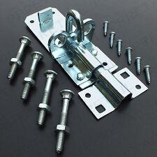 """HEAVY DUTY PADBOLT 4"""" Metal Gate/Shed Door Secure Slide Lock Bolt Latch/Catch"""