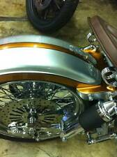 BOBBER  CHOPPER HARDTAIL SOLO SEAT REAR SPRING SET OF 2 TORSION STYLE CHROME
