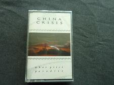 CHINA CRISIS WHAT PRICE PARADISE ORIGINAL 1986 RARE NEW SEALED CASSETTE TAPE!
