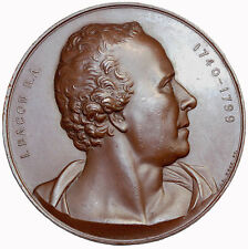 1864 Great Britain London Art Union John Bacon Samuel Johnson Medal By J.S. Wyon
