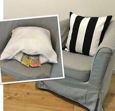 Throw Pillow/Cushion Diversion Safe - Black & White - Hidden Stash Compartment