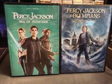 PERCY JACKSON SEA OF MONSTERS AND PERRY JACKSON & THE OLYMPIANS THE LIGHTING THI