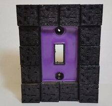 Nether Portal Light Switch Cover Minecraft