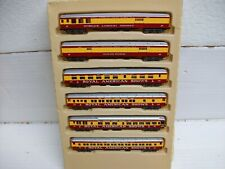 N Scale Con-Cor 001-004034 Golden State 5-Car Passenger Set