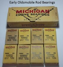 Michigan Engine Rod Bearings 7340 K Early Oldsmobile STD Lot Of 8 N.O.R.S.