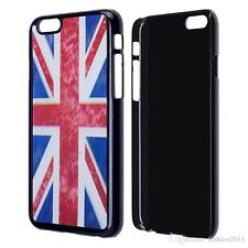 3D Effect Pattern Union Jack Case Cover for iPhone 6/6S Plus + Free Screen Guard
