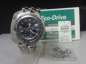 Japan 2000 CITIZEN Solar Radio Control watch [Eco-Drive Radio Controlled] 9417