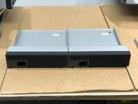 Lot 2x IBM Lenovo Flex System Enterprise Chassis Node Bay Filler Blank 1/2 width