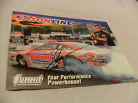 JASON LINE SIGNED AUTOGRAPHED NHRA PRO STOCK SUMMIT RACING EQUIPMENT PHOTO w COA