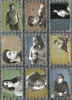 Harry Potter Deathly Hallows 1 Foil Puzzle Chase Card Set 9 Cards