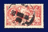 1915 SG409 5s Carmine De La Rue N67(2) London Good Used Cat £475 cqax