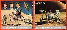 Manama - 2 Blocs -Timbres - Mission Apollo XV - Obl. - Espace