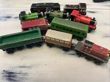 Thomas The Tank Wooden Toy Trains Lot 10 Pieces