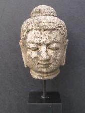 Tete de Buddha in Stone Java Indonesia