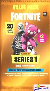 2019 Panini FORTNITE Trading Cards HUGE Factory Sealed JUMBO FAT Pack-20 Cards !