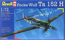 Maqueta del caza alemán Focke Wulf Ta 152H de REVELL a escala 1/72
