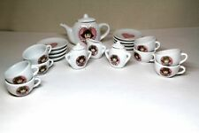 D.W. From Arthur (Marc Brown) 23 Pc Miniature China Tea Set