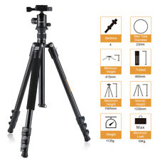K&F Concept Aluminum Travel Tripod Monopod&Ball Head for Travelling DSLR Camera
